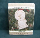 1993  Hallmark Keepsake ornament MISTLETOE KISS Portraits Bisque Collection NIB