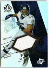 2004 UD Reflectoins Focus on the Future Terrell Suggs Game Used Jersey Relic