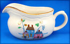 International HEARTLAND SY7774 Gravy Boat Only 6.75 Flowers House Trees