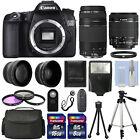 Canon EOS 70D SLR Camera + 4 Lens Kit 18 55 STM +75 300 mm + 24GB TOP VALUE KIT