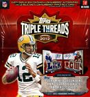 2012 Topps Triple Threads Football Hobby Box New Unopened RG3 Luck Wilson