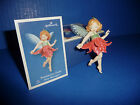 Hallmark Poinsettia Fairy Ornament Fairy Messenger 1st in the Series Gently Used