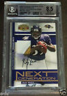 2008 Donruss Gridiron Gear RAY RICE 3-Color Patch 25 BGS 8.5 Auto 10 Pop 1 2