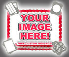 YOUR IMAGE ANY PHOTO LOGO CUSTOM Edible Cake Topper Frosting Sheet Sugar!