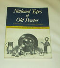 National Types of Old Pewter S/C book 1972 Adolphe Riff Very Good condition