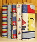 Ships Ahoy Fabric Collection by Springs Creative Fishy Sailboats Stripes bty