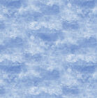 Busy Builders Cheri Strole Blue Clouds 4789 42 Northcott Quilt Fabric by 1 2yd