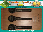 3 TIE ROD END SET JEEP FOR GRAND CHEROKEE 93-98 WRANGLER 90-06
