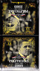 2009 EXECUTIVE TRADING POLITICIANS CARDS Box 24 Packs 8 Cards Per Pack