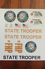 1/18 Florida Highway Patrol decals FHP State Police Trooper Ford Crown Vic SUV