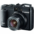 Canon PowerShot G16 121 MP Digital Camera Black New
