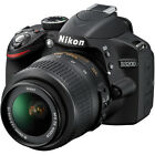 Nikon D3200 Digital SLR Camera - Black w/AF-S DX 18-55mm 1:3.5-5.6G VR Lens