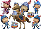 STICKER WALL DECO OR IRON ON FABRIC TRANSFER MIKE THE KNIGHT EVIE lot MK
