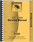 New Case 1030 Tractor Service Manual