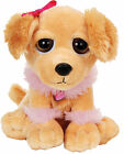 Petjes World Bright Eyes Golden Retriever Dog Soft Toy 20cm