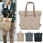 Fashion Men's Handbag 3 Way Style Bag Unisex Tote Cross Body Backpack Briefcases