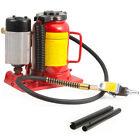 20Ton Portable Air Manual Power Over Hydraulic Low Profile Bottle Jack Lift