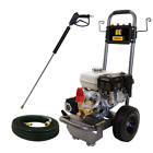 BE Professional 2700 PSI (Gas-Cold Water) Pressure Washer w/ Honda GX200 Engine