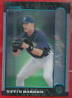 1999 Bowman Chrome GOLD REFRACTOR Kevin Barker 7 25 NRMT MT Brewers