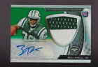 2011 Topps Platinum Green Refractor Bilal Powell Auto 2 Color Patch Rc # to 125
