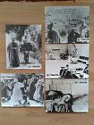 PIER PAOLO PASOLINI THE GOSPEL ACCORDING TO ST MATHEW 5 scarce lobby cards