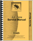 New Case 310B Tractor Service Manual