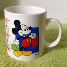 Kilncraft STL England Disneyland Paris Mickey Mouse Coffee Cup Mug