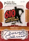 08-09 opc premier stitchings bobby hull chicago black hawks autograph auto 16 50