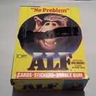 1987 Topps ALF Series 1 Wax Box 48 Packs Cards Stickers Gum