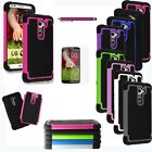 For LG G2 AT&T Sprint T-mobile Verizon Rugged Impact Protective Case Cover + Pen