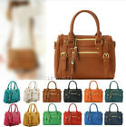 New Ladies Shoulder Tote Handbag Womens Cross Body Bag Faux Leather Hobo Purse