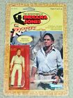 Vintage Indiana Jones 1982 KENNER BELLOQ ACTION FIGURE ROTLA card MOC AFA
