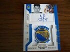 JEREMY LIN 2010-11 PLAYOFF CONTENDERS AUTOGRAPHED ERROR PATCH ROOKIE CARD