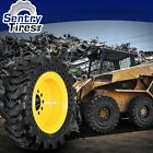 14x175 Solid Skid Steer Tires SET OF 4 WITH WHEELS 14 175 FOR GEHL