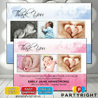 Personalised New Baby Birth Announcment Thank You Cards  Your Photos and Text
