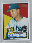 2001 01 JOHNNY SAIN TOPPS HERITAGE REAL ONE SIGNATURE AUTO