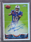 2013 Topps Chrome Robert Woods Refractor On Card Auto Rc Serial # to 150