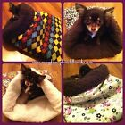 Dog Cat Sleeping Bag Chihuahua Sphynx Snuggle Cuddle Burrow Sack Pet Bed