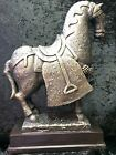Antique Porcelain Horse Statue