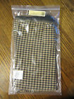 NEW Longaberger Khaki Check Sort and Store Large Rectangle Storage Basket Liner