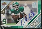 2009 UD NFL Draft OTIS WILEY Michigan State Spartans Certified Auto #ed 17 25