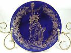 FLEETWOOD COLLECTION* 1986 THE STATUE OF LIBERTY CENTENNIAL PLATE MIB COA