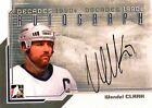 12-13 itg decades 90s wendel clark toronto maple leafs autograph auto
