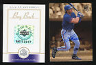 2000 SP Authentic BUY BACK AUTOGRAPH Jose Canseco #BAG 52957 Ser# 298 502