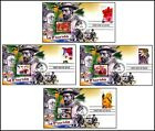 NEW 2013 La Florida Ponce De Leon Fountain of Youth First Day of Issue Cover Set