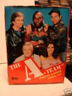 The A-Team TV show cards rare vintage unopened box 1986