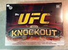 2012 Topps UFC Knockout Factory Sealed Hobby Box w Auto+Relic