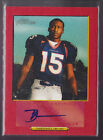 2006 Topps Turkey Red Brandon Marshall Auto Red Rc Serial # to 199