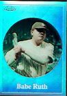 2001 Topps Chrome Before There Was Topps Refractors #BT2 Babe Ruth - NM-MT
