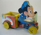 Mickey Mouse Patrol 1956 Fisher Price FP-733 - Vintage Walt Disney Pull-Toy